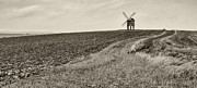Rainy Day Photo Originals - Chesterton Windmill by Vinicios De Moura