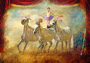 Ballet Dancer Posters - Cheval Danseur Poster by Trudi Simmonds