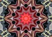Chevelle Digital Art Prints - Chevelle Kaleidoscope Print by Victor Montgomery
