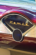 Red Chevrolet Prints - Chevrolet Bel-Air Nomad Dashboard Print by Jill Reger