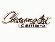 Chevrolet Camaro Emblem Print by Jerry Fornarotto