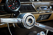 Collectible Sports Art Photos - Chevrolet Chevelle 396 Steering Wheel by DJ Monteleone