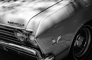 Chevelle Framed Prints - Chevrolet Chevelle SS Grille Emblems Framed Print by Jill Reger