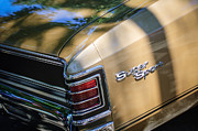 Chevrolet Chevelle Photos - Chevrolet Chevelle SS Taillight Emblems by Jill Reger