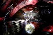 Red Chevrolet Photos - Chevrolet Master Deluxe 1939 by Tom Mc Nemar