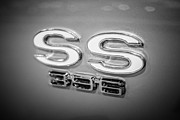 396 Prints - Chevrolet SS 396 Emblem Print by Paul Velgos