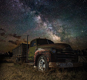 Milkyway Framed Prints - Chevy Framed Print by Aaron J Groen