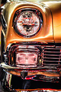Shanna Gillette - Chevy Bel Air headlight