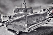 Nba Framed Prints - Chevy Bel Air Framed Print by Nicholas  Grunas