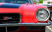 Garage Wall Art Framed Prints - Chevy Camaro Z28 Framed Print by Paul Ward