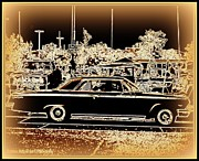 Matting Metal Prints - Chevy Glow Metal Print by Bobbee Rickard