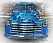 Chevy Pickup Prints - Chevy Pickup Print by Louise Reeves