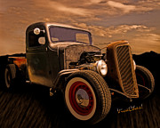 Chas Sinklier - Chevy Rat Rod Pickup 1936