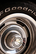 V8 Chevelle Posters - Chevy Wheel Poster by Rick Piper Photography