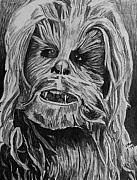 Science Fiction Drawings Originals - Chewie by Jeremy Moore