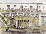Cheyenne Dance 1845 Print by Granger