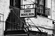 Chez Prints - Chez Bourbon Print by Bill Cannon