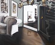 Chez Moi Print by Erin Brinkman