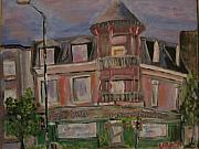 Michael Litvack Paintings - Chez Vito by Michael Litvack
