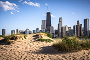 With Photos - Chicago Beach and Skyline by Paul Velgos