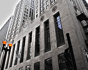 Chicago Board Of Trade Prints - Chicago Board of Trade Print by Paul Anderson