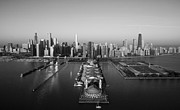 Jeff Lewis - Chicago By Air BW