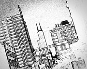 Kevin Klima - Chicago City Sketch