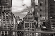 Chicago Skyline Photos - Chicago Crosswalk  by John McGraw