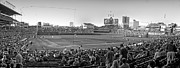 Cubs Baseball Park Prints - Chicago Cubs 5 Minutes Till Game Time Print by Thomas Woolworth