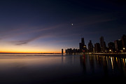 Sven Brogren Art - Chicago Dawn 2 by Sven Brogren