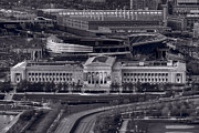 Soldier Field Prints - Chicago Icons BW Print by Steve Gadomski