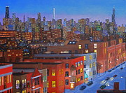 Sears Paintings - Chicago Is Neighborhoods by J Loren Reedy