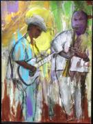 Blues Painting Originals - Chicago Jam by Keith Thue