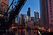 Chicago Photography Posters - Chicago Loop Poster by Jeff Lewis