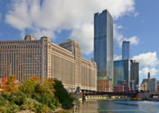 Chicago River Prints - Chicago Merchandise Mart Print by Christine Till
