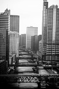 Allan Millora Framed Prints - Chicago River Framed Print by Allan Millora