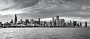 Patrick  Warneka - Chicago Skyline Black...