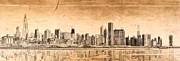 Willis Tower Digital Art - Chicago skyline by Dejan Jovanovic