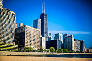 Chicago Prints - Chicago Skyline High Resolution Picture Print by Paul Velgos