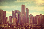 Noah Browning - Chicago Skyline I
