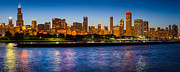 Chicago Skyline Print by Inge Johnsson