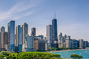 Julie Palencia - Chicago Skyline North View