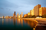 Chicago Skyline Photos - Chicago Skyline by Sebastian Musial