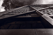 Chicago Landmark Prints - Chicago Structure BW Print by Steve Gadomski