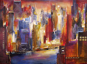 Trump Originals - Chicago -The River View by Kathleen Patrick