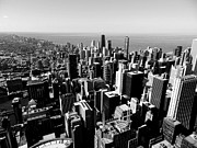 Skylines Art - Chicago TM 023 by Lance Vaughn