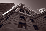 Trump Originals - Chicago Towers BW by Steve Gadomski