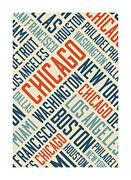 Steve Will - Chicago Typography Poster