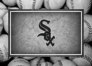 Baseballs Posters - Chicago White Sox Poster by Joe Hamilton
