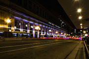 Canal Street Photos - Chicagos Union Station at night by Sven Brogren